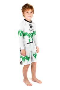 """Tribal"" Series Rash Guard (Youth) - Warhammer Fightwear"