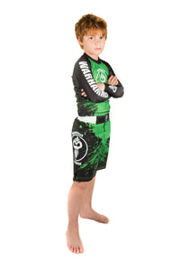 """Splatter"" Series Rash Guard (Youth) - Warhammer Fightwear"
