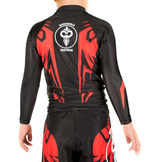 """Savage"" Series Rash Guard (Youth) - Warhammer Fightwear"
