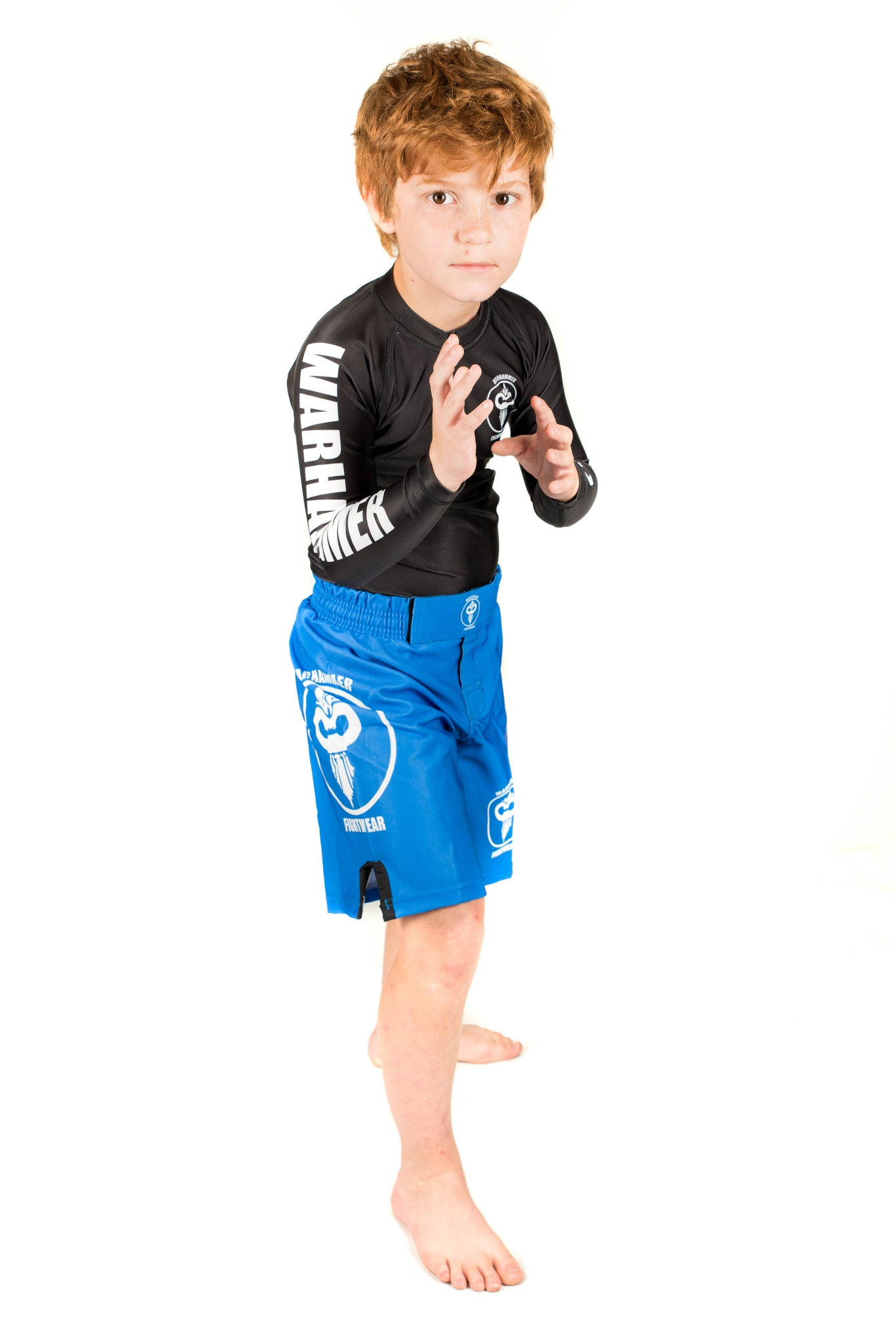 Solid Color Fight Shorts (Youth) - Warhammer Fightwear