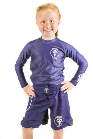 Solid Color Rash Guard (Youth Sizes)