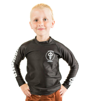 Solid Color Rash Guard (Youth Sizes) - Warhammer Fightwear