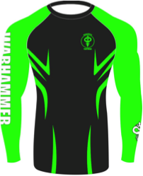 "Warhammer Fightwear ""Razor"" Rash Guard (Youth) - Warhammer Fightwear"
