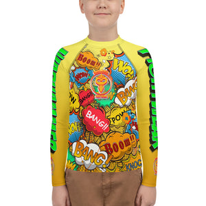 Warhammer Fightwear Comic Inspired Rash Guard (Youth)