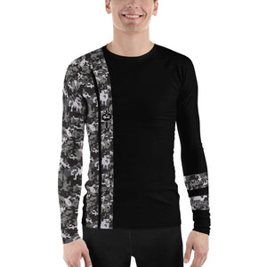 Warhammer Fightwear Black Belt Ranked Men's Rash Guard