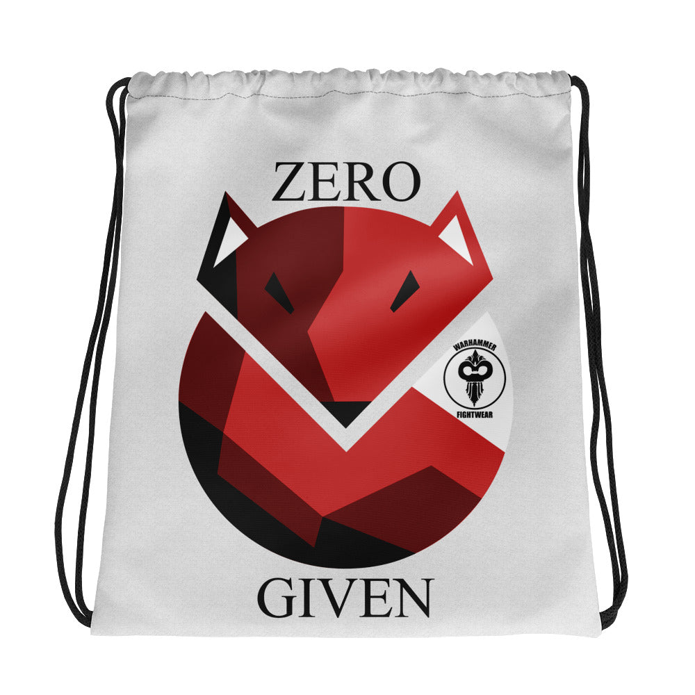 Zero Fox Given Warhammer Drawstring bag - Warhammer Fightwear