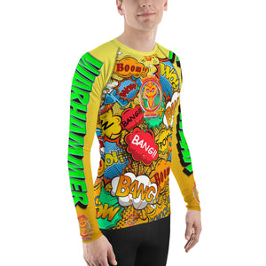 Warhammer Fightwear Comic Inspired Rash Guard - Warhammer Fightwear