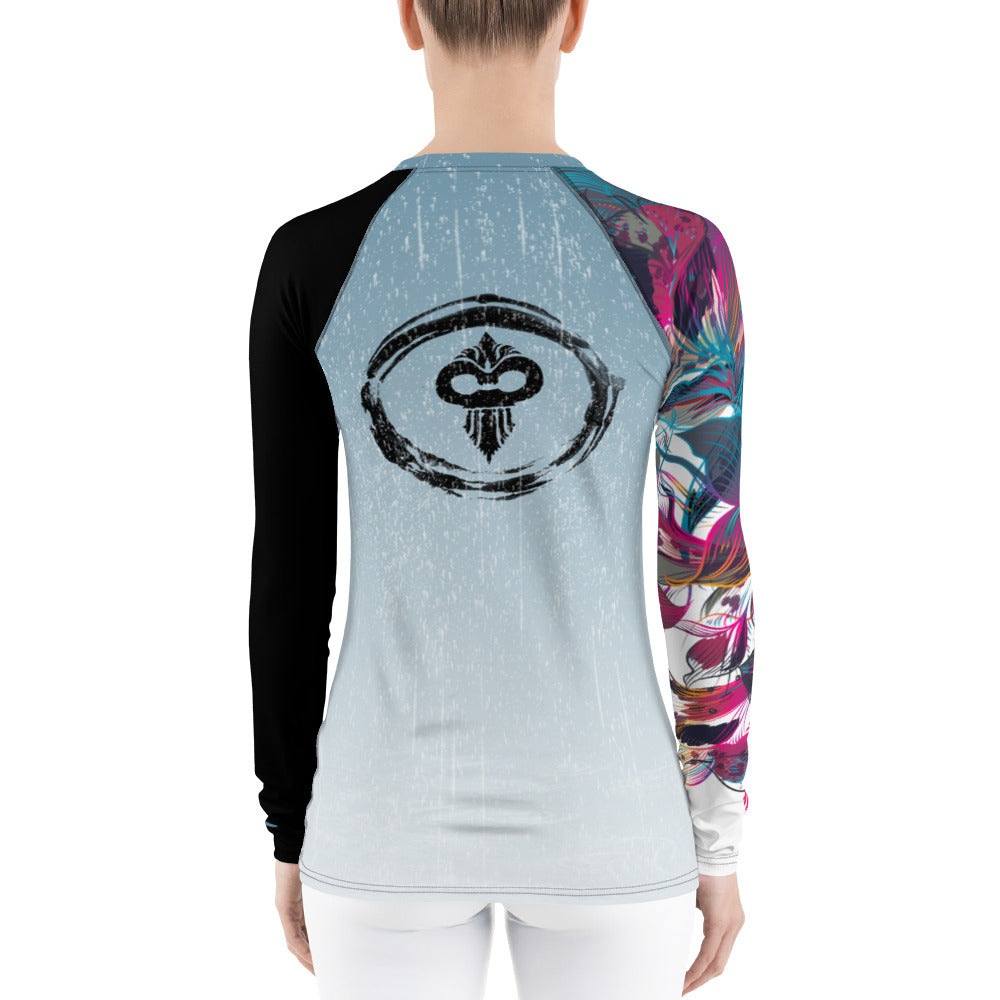 Weather the Storm Women's Rash Guard - Warhammer Fightwear