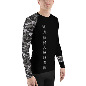 Warhammer Fightwear Black Belt Ranked Men's Rash Guard Ver3 - Warhammer Fightwear