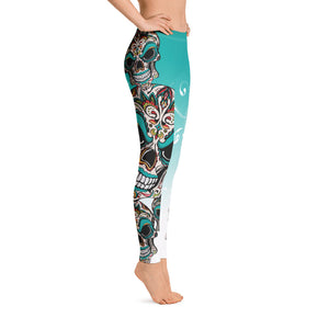Warhammer Fightwear Sugar Skull Leggings/Spats - Warhammer Fightwear