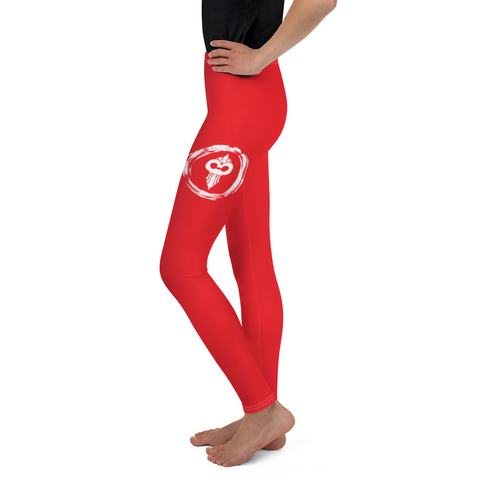Warhammer Fightwear Red Youth Leggings - Warhammer Fightwear