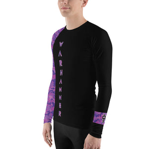 Warhammer Fightwear Purple Belt Ranked Men's Rash Guard - Warhammer Fightwear
