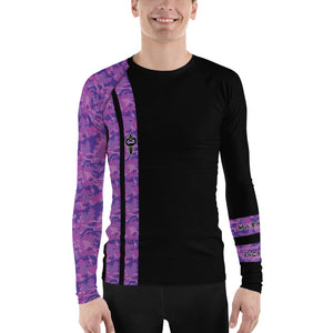 Warhammer Fightwear Purple Belt Ranked Men's Rash Guard Ver3 - Warhammer Fightwear