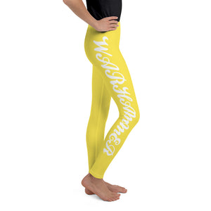 Warhammer Fightwear Yellow Youth Leggings - Warhammer Fightwear