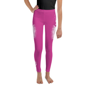 "Warhammer Fightwear Pink ""Dragon"" Youth Leggings - Warhammer Fightwear"