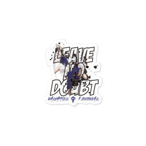 Warhammer Fightwear Leave No Doubt Bubble-free stickers - Warhammer Fightwear