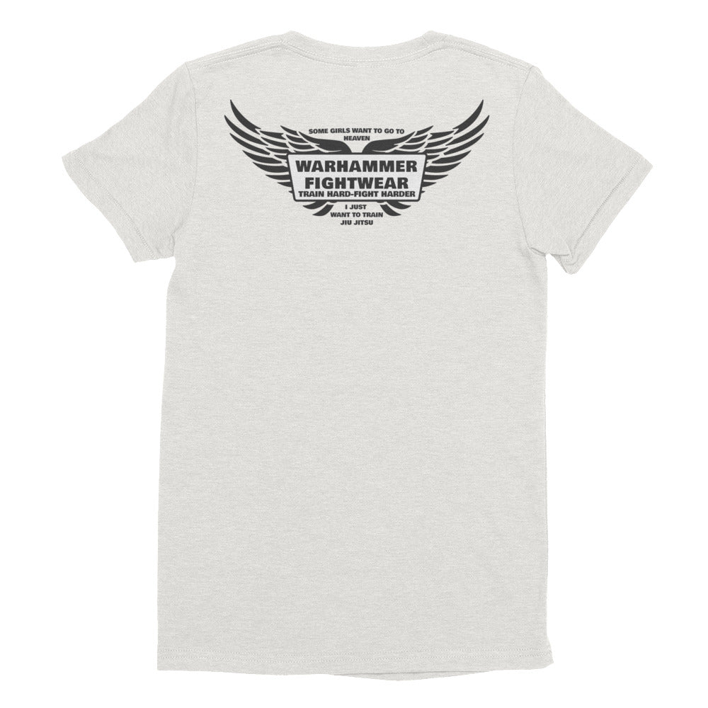 Angel Wings Warhammer Fightwear Womens TShirt - Warhammer Fightwear