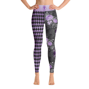 Warhammer Yoga/Spats Purple Dual Design - Warhammer Fightwear