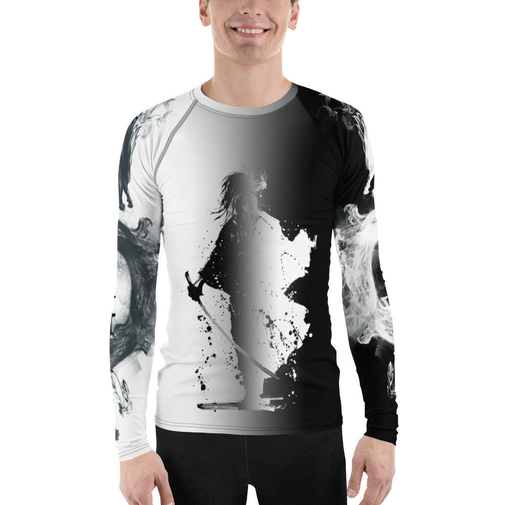 Warhammer Fightwear Samurai/Dragon Men's Rash Guard - Warhammer Fightwear