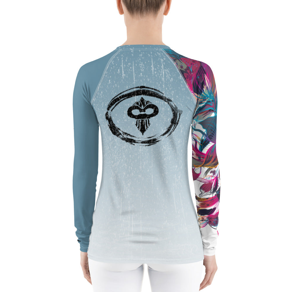 Weather the Storm Version 2 Women's Rash Guard - Warhammer Fightwear