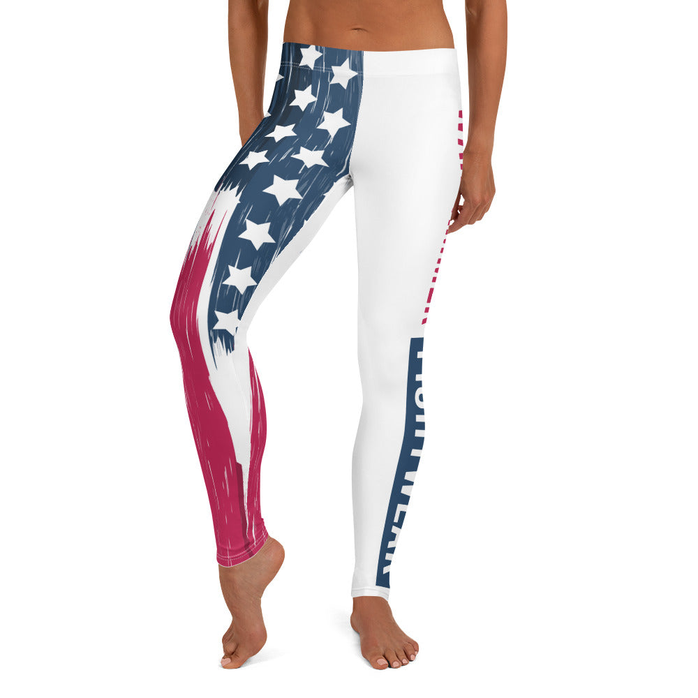 Warhammer Fightwear American Flag Leggings/Spats (Womens) - Warhammer Fightwear