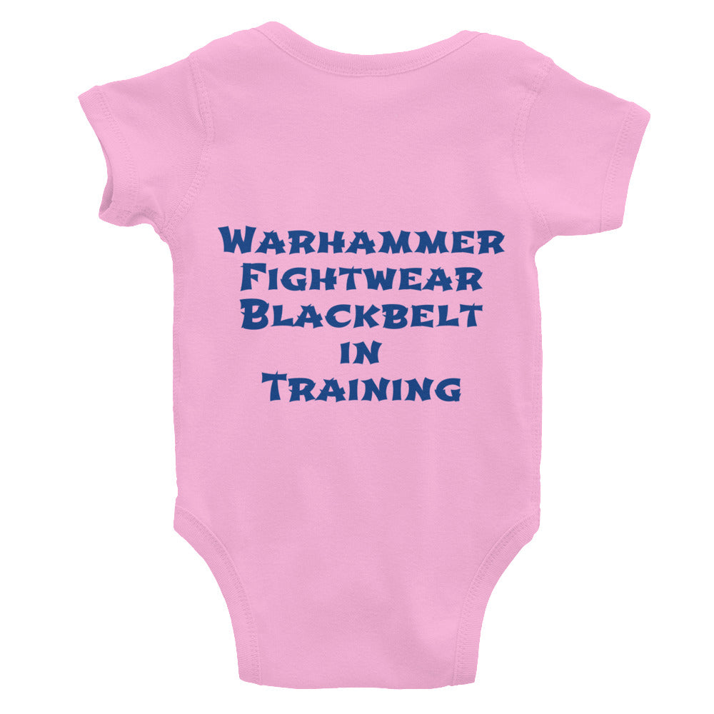Proof-Black belt in Training Onesie - Warhammer Fightwear