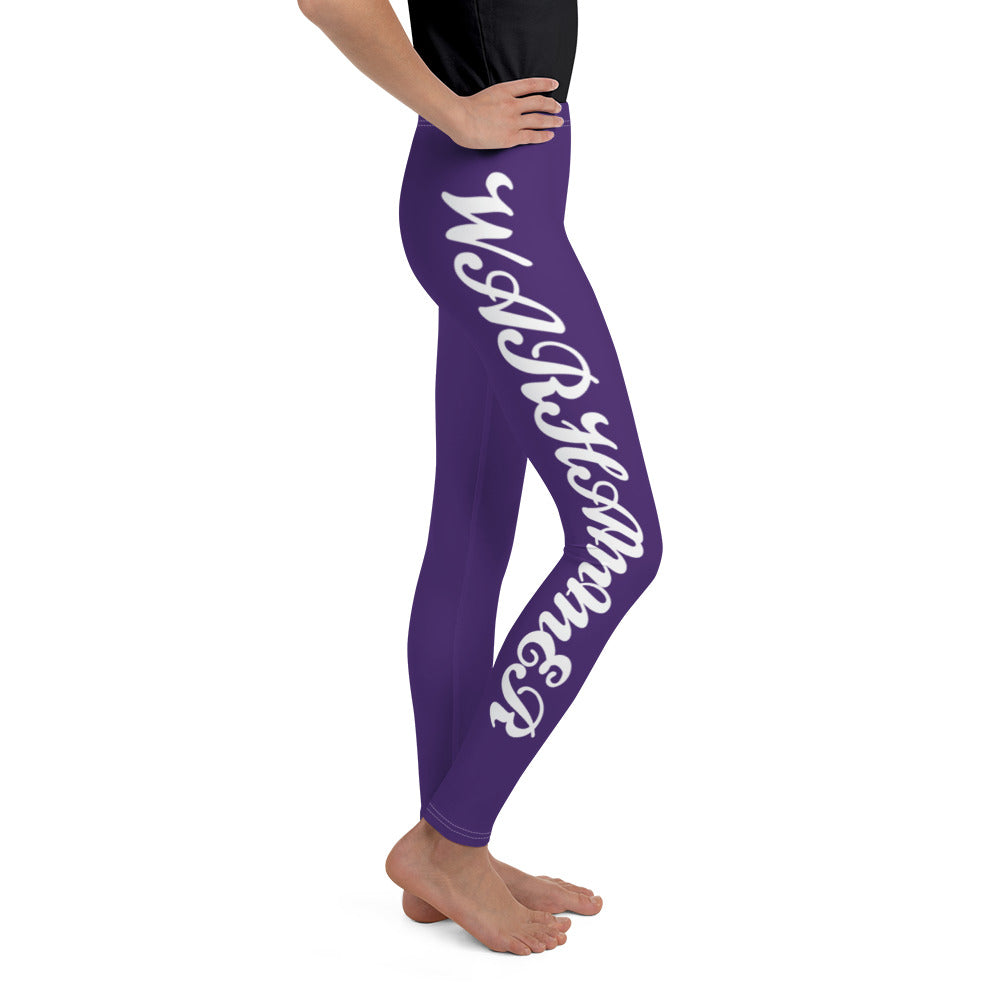 Warhammer Fightwear Purple Youth Leggings - Warhammer Fightwear