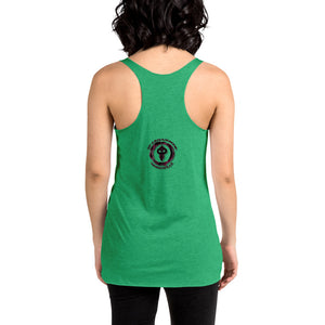 Warhammer Fightwear  Black WIdow Borga Women's Racerback Tank - Warhammer Fightwear