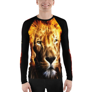Warhammer Fightwear Lion Men's Rash Guard - Warhammer Fightwear