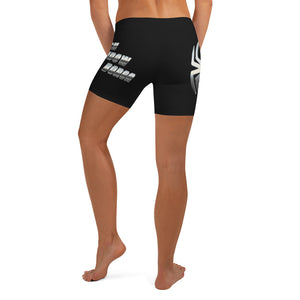 Warhammer Fightwear Black Widow Borga Shorts - Warhammer Fightwear