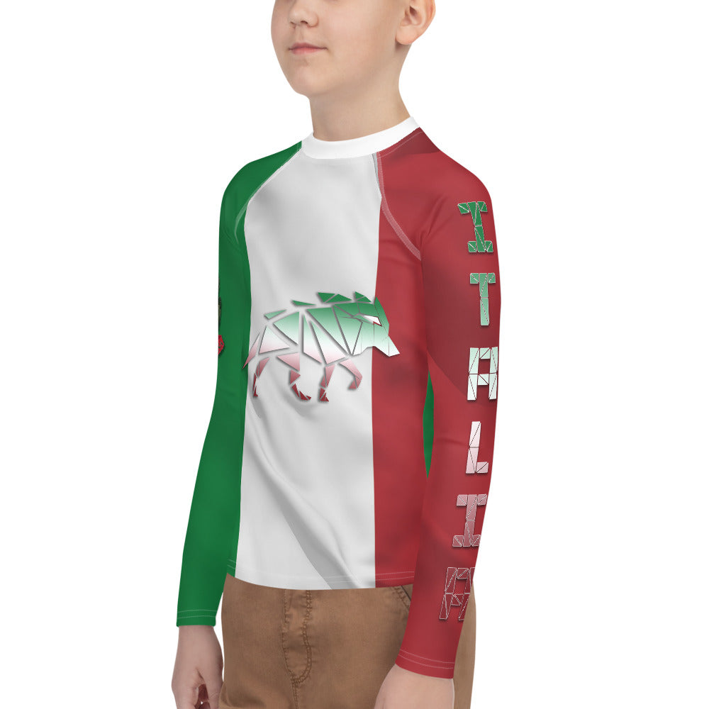 Warhammer Fightwear Italian inspired Youth Rash Guard - Warhammer Fightwear