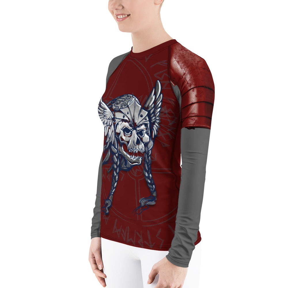 Warhammer Fightwear Viking Warrior Women's Rash Guard