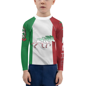 Warhammer Fightwear Italian inspired Kids Rash Guard - Warhammer Fightwear