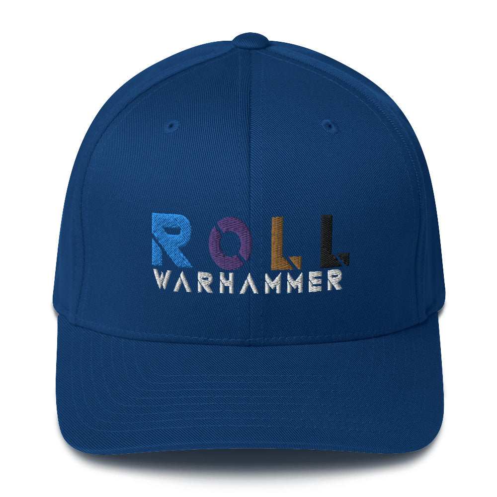 Warhammer Fightwear ROLL Structured Twill Cap - Warhammer Fightwear