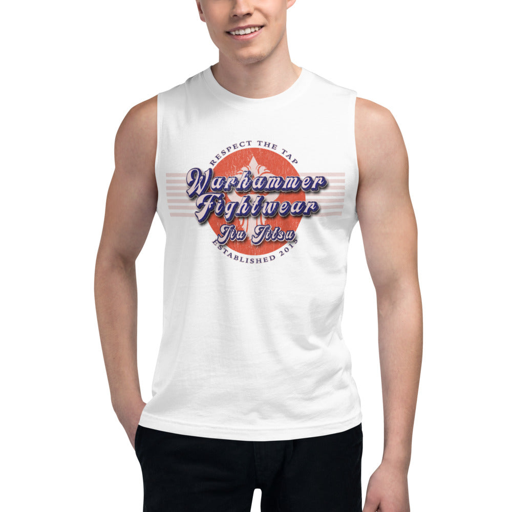 Warhammer Fightwear Retro Design Muscle Shirt - Warhammer Fightwear