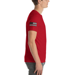 Warhammer Fightwear Defend The Line (Thin Red Line) Short-Sleeve Unisex T-Shirt - Warhammer Fightwear