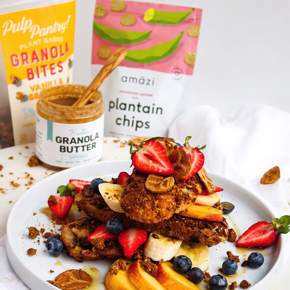 vegan crusted french toast