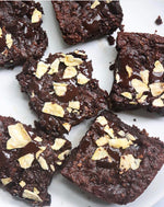 Sweet and Salty Plantain Brownies (GF, Vegan, Paleo-friendly!)