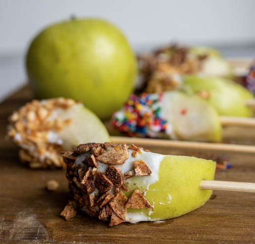 A FRESH Take on Halloween Treats: Apple Dippers
