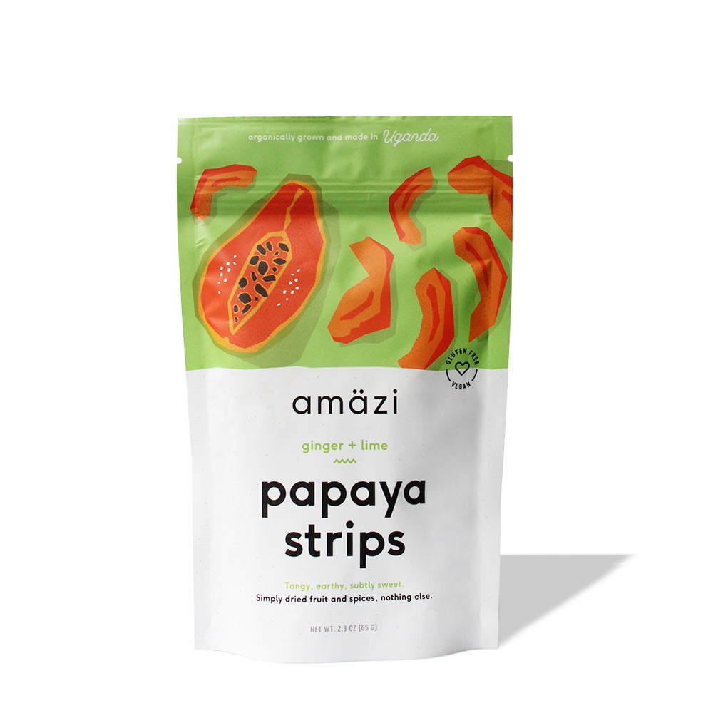 Ginger Lime Papaya Strips