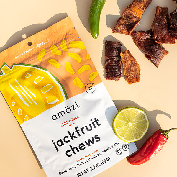 Chili Lime Jackfruit Chews - 6 Pack