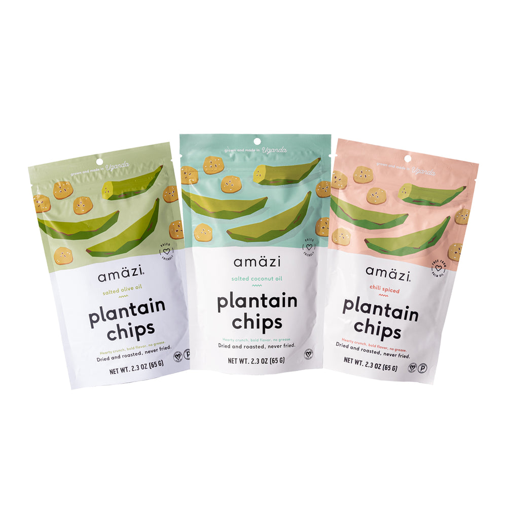 Plantain Chips Variety Pack