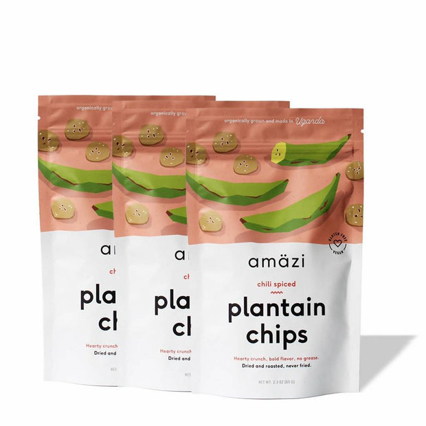 Chili Spiced Plantain Chips - 6 Pack 1