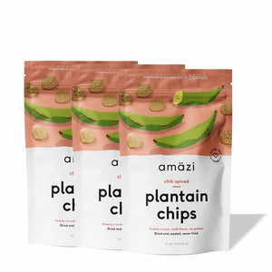 Chili Spiced Plantain Chips