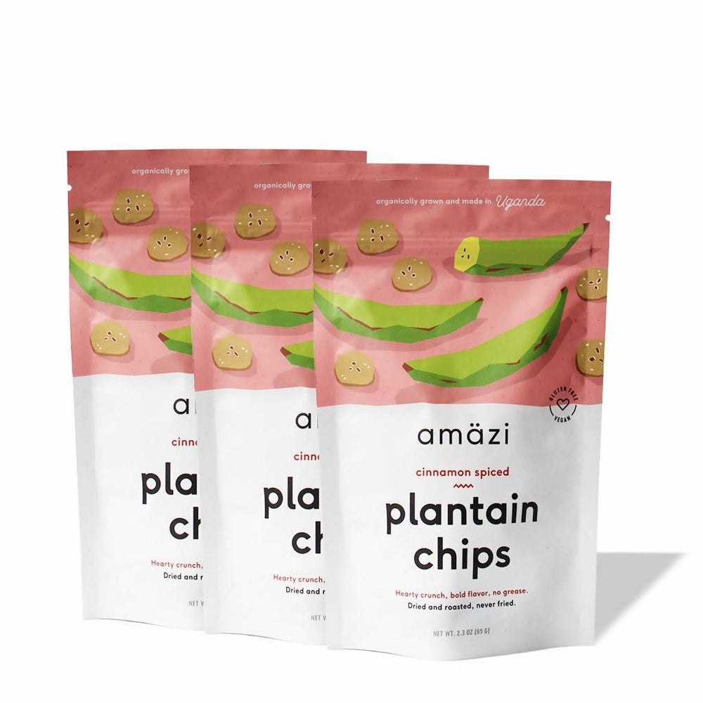 Cinnamon Spiced Plantain Chips