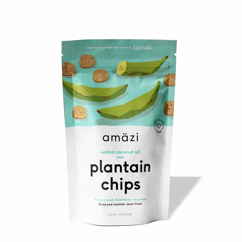 Salted Coconut Oil Plantain Chips - Wholesale