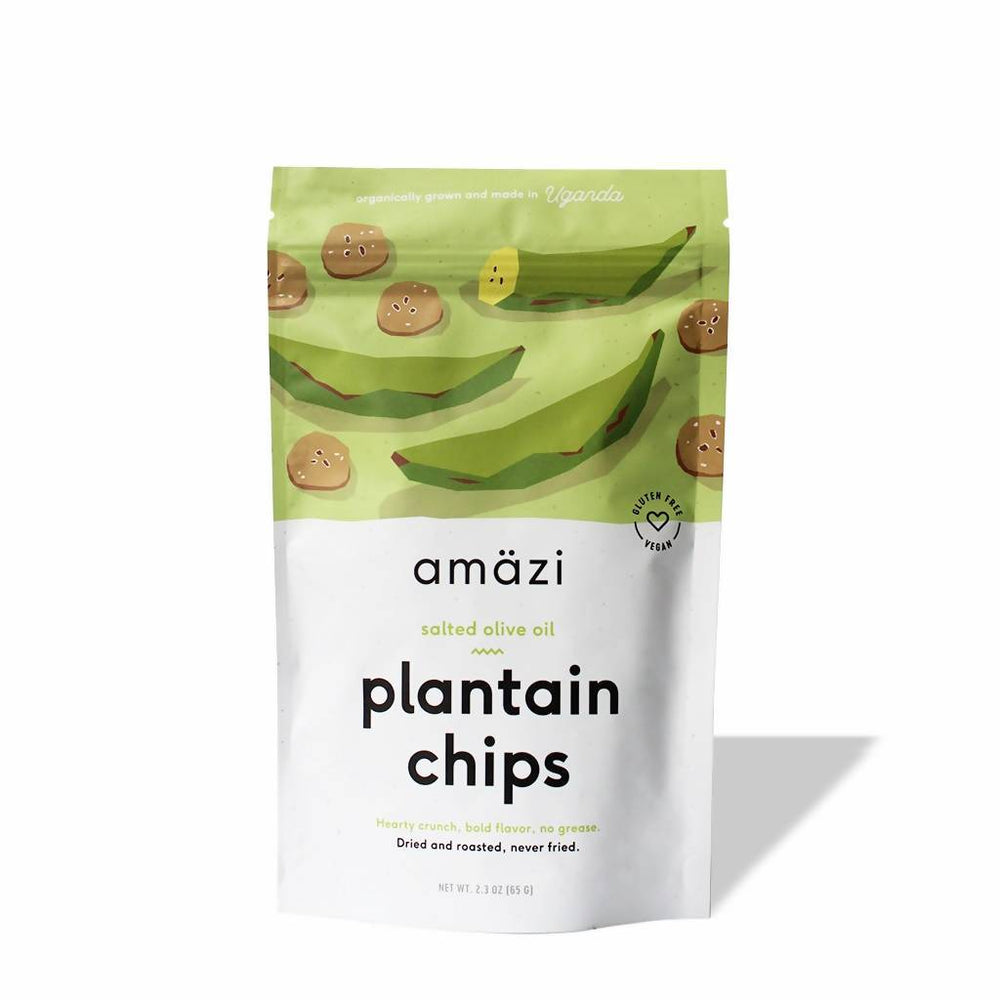 Salted Olive Oil Plantain Chips - 6 Pack