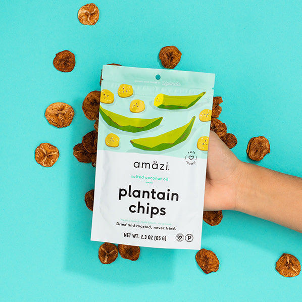 Salted Coconut Oil Plantain Chips - 6 Pack 1