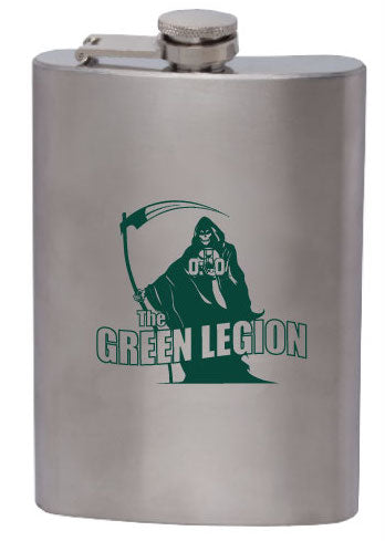 Green Legion Stainless Steel Flask