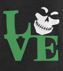 Green Legion LOVE V-Neck T-Shirt